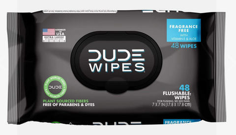 DUDE WIPES - Pack of 48