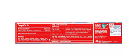 Colgate Kids Cavity Protection Toothpaste Bubble Fruit - 4.6oz Firetruck