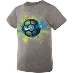 Nike Boys Months Exploding Soccer Ball Short-Sleeve Tee Shirt SIZE 7 (You Donate: $1.25)