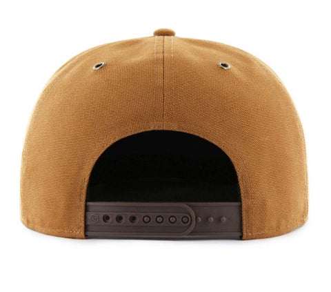 Washington Nationals '47 Carhartt Captain Brown Adjustable Snapback Hat