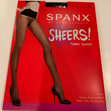Spanx Tummy Shaping Sheers Very Black / Size C