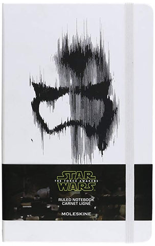 Moleskine: Star Wars The Force Awakens Stormtrooper Large Ruled Notebook