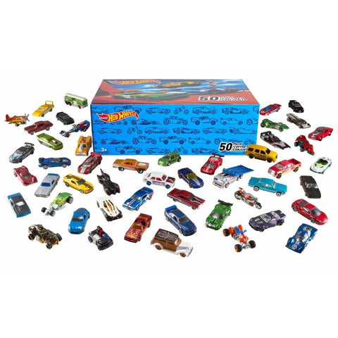 DieCast Vehicles Hot Wheels Basic Car 50-Pack (Packaging May Vary)