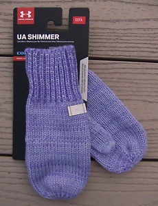 Girls Under Armour Shimmer Knit Mittens (You Donate: $.50)