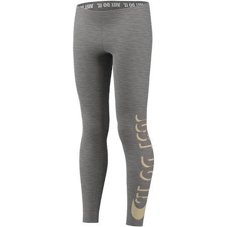 Nike Girls' Sportswear Just Do It Leggings Size Medium (You Donate: $2.85)