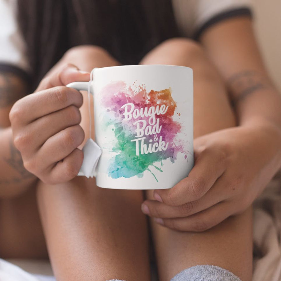 Bougie, Bad, and Thick Coffee Mug | KiKi Collection