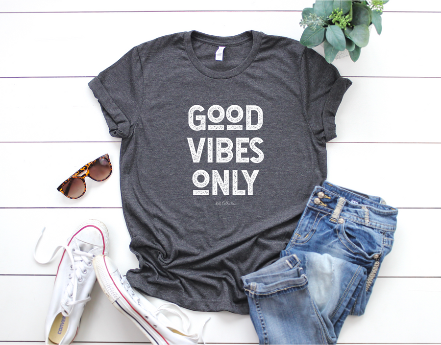 good vibes t shirt unisex