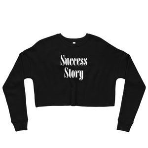 Success Story Crop Sweatshirt -  - KiKi Collection