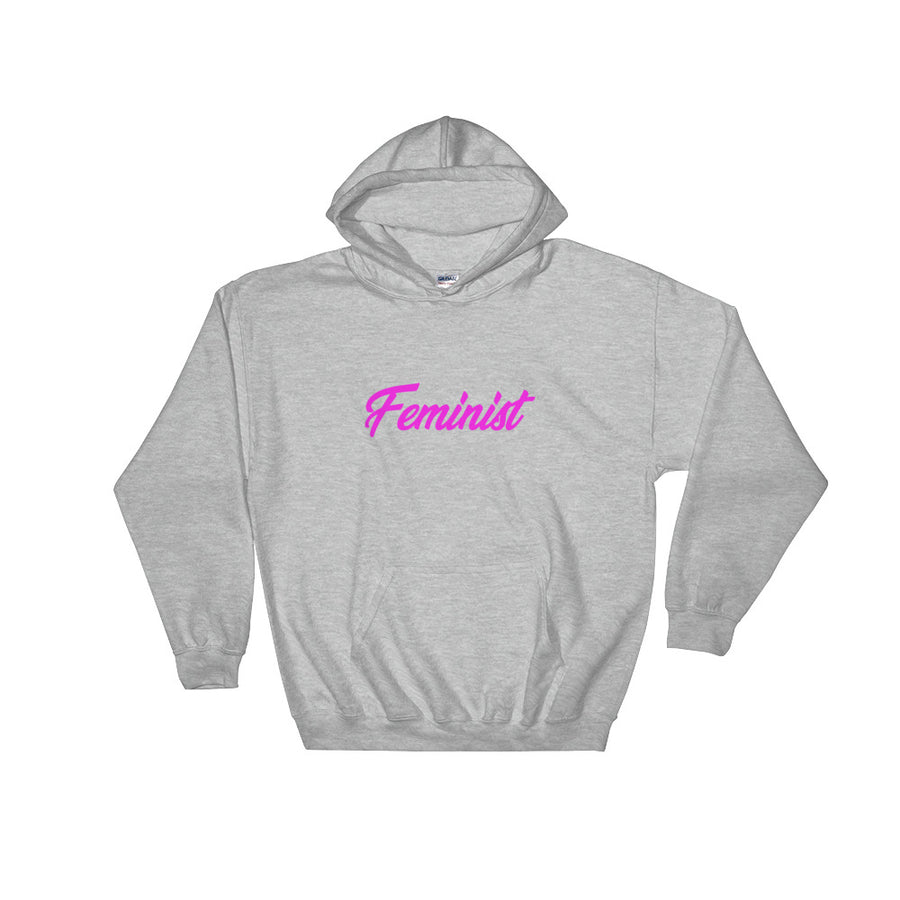 Feminist Hooded Sweatshirt -  - KiKi Collection
