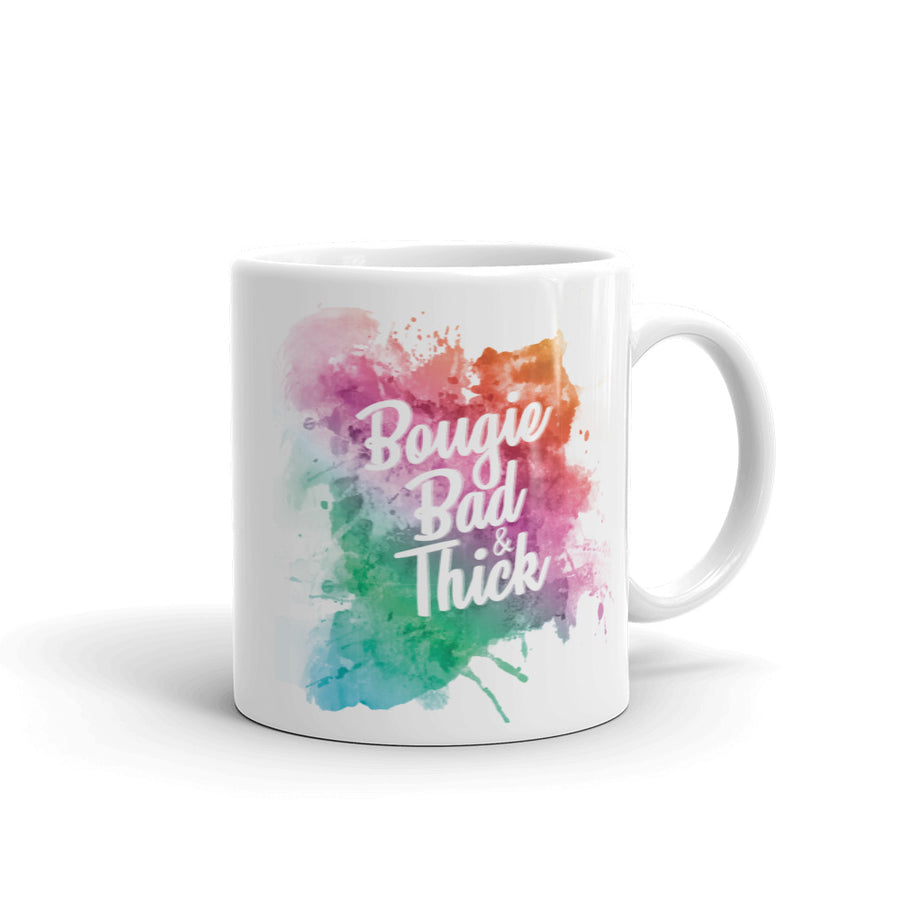 Bougie, Bad, and Thick Coffee Mug -  - KiKi Collection