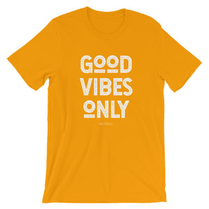 """Good Vibes Only"" Short-Sleeve Unisex T-Shirt -  - KiKi Collection"
