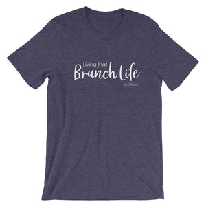 Living that brunch life Short-Sleeve Unisex T-Shirt -  - KiKi Collection