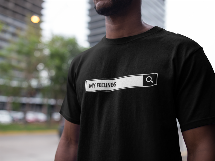 Searching for my feelings Short-Sleeve Unisex T-Shirt | KiKi Collection