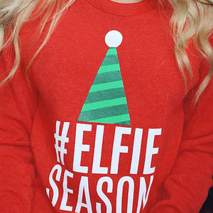 #Elfie Season Holiday Sweatshirt -  - KiKi Collection