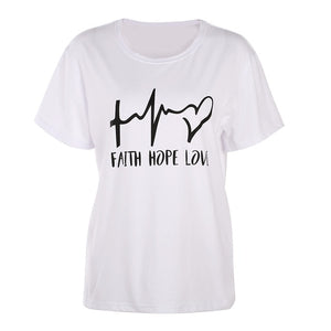 FAITH. HOPE. LOVE T-SHIRT