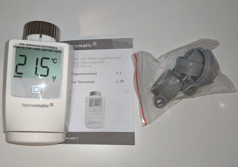 HomeMatic IP Heizkörperthermostat - Teile