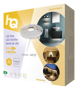 LED-Leiste 24 W Warmweiss 1400 lm - 5m