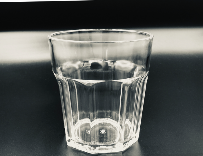 "Three 300ml Tritan ""glasses"""