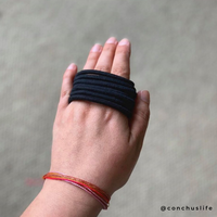 Natural Rubber Hair Bands - CONCHUS