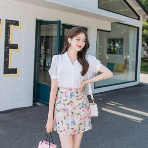 Colour Me Floral Skirt