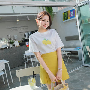 Lemon Pattern Tee