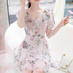 Romantic Princess Floral Dress