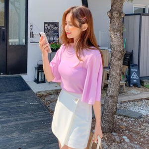 Ripple Sleeve Top