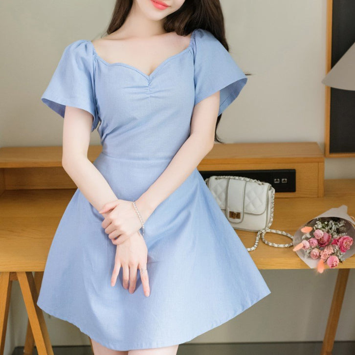 Sweet Heart Neck Off Shoulder Dress