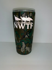 20oz Tumbler Decorated in Mossy Oak Greenleaf