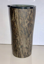 Load image into Gallery viewer, 20oz Tumbler Decorated in Mossy Oak New Bottomland