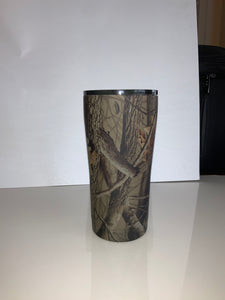 20oz Tumbler Decorated in Realtree Hardwoods HD