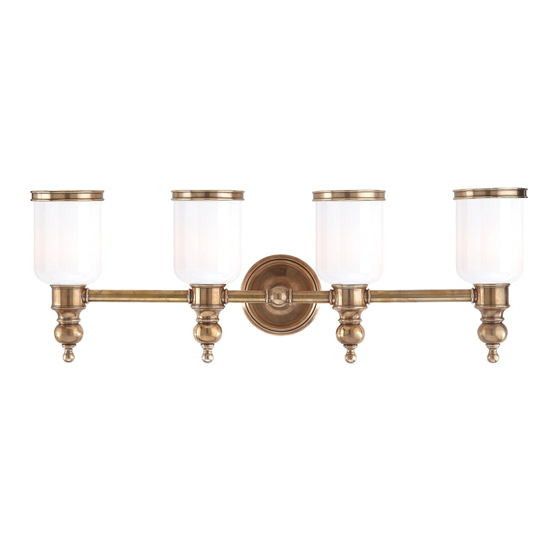 Chatham Four Light Bath Sconce by Hudson Valley