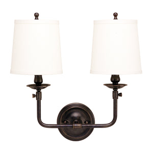 Logan Two Light Wall Sconce by Hudson Valley
