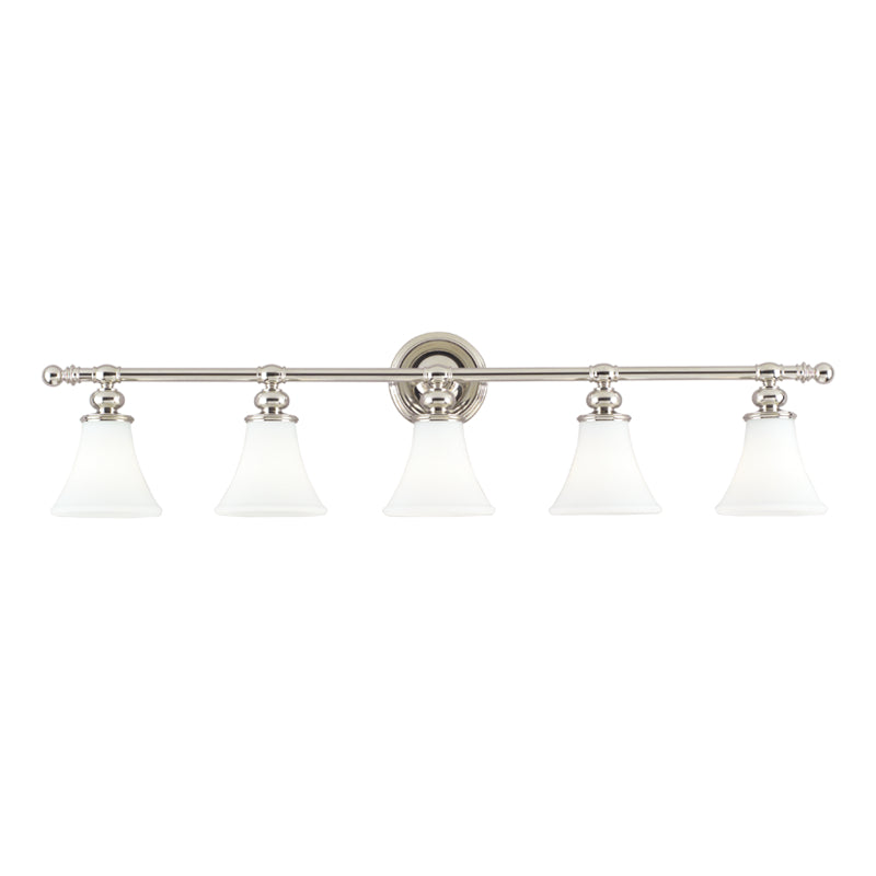 Weston Five Light Bath Bracket by Hudson Valley
