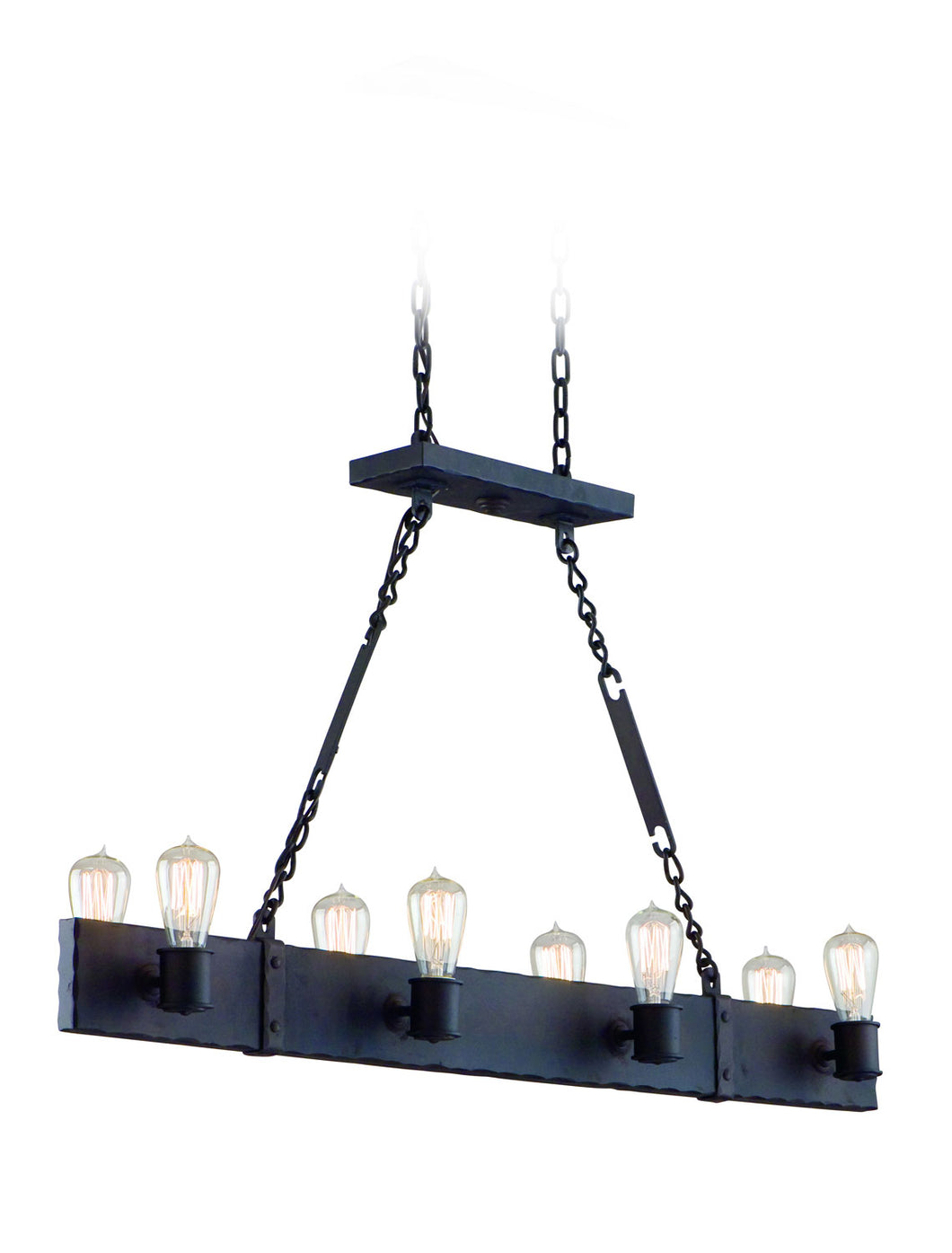 Jackson Eight Light Linear Chandelier by Troy Lighting