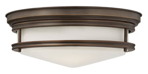 Hinkley - 3301OZ - Three Light Flush Mount - Hadley - Oil Rubbed Bronze