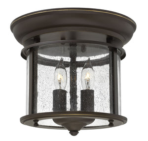 Hinkley - 3472OB - Two Light Flush Mount - Gentry - Olde Bronze