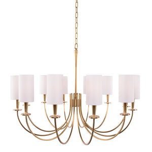 Mason 12 Light Chandelier by Hudson Valley