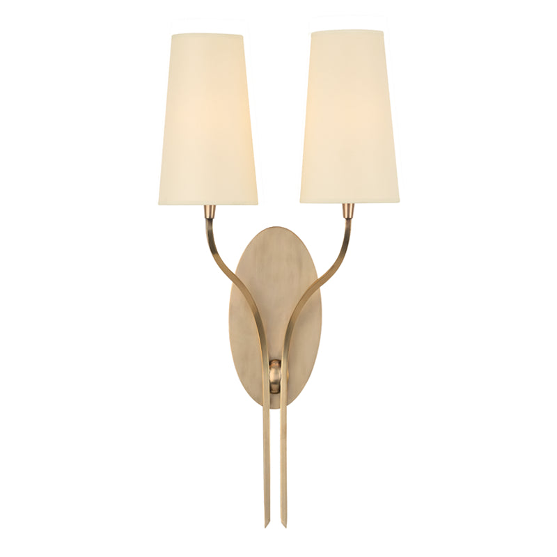 Rutland Two Light Wall Sconce by Hudson Valley