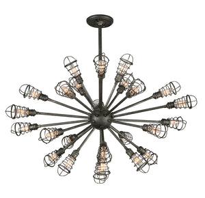 Conduit 25 Light Chandelier by Troy Lighting