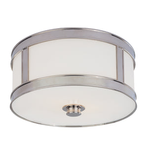 Hudson Valley - 5510-PN - One Light Flush Mount - Patterson - Polished Nickel