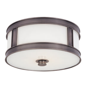 Hudson Valley - 5516-HN - Three Light Flush Mount - Patterson - Historic Nickel