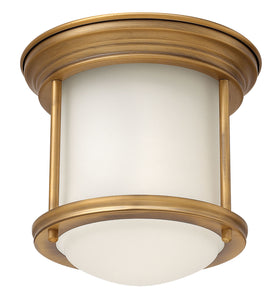 Hinkley - 3300BR - One Light Flush Mount - Hadley - Brushed Bronze