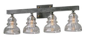 Menlo Park Four Light Bath Sconce by Troy Lighting