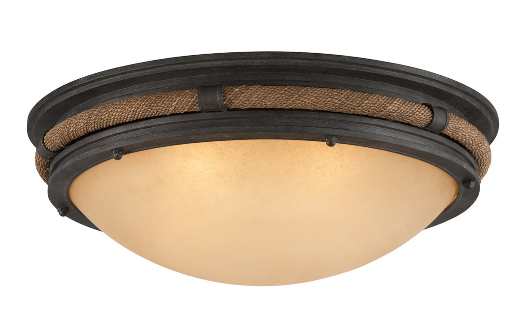 Pike Place Large Flush Mount by Troy Lighting