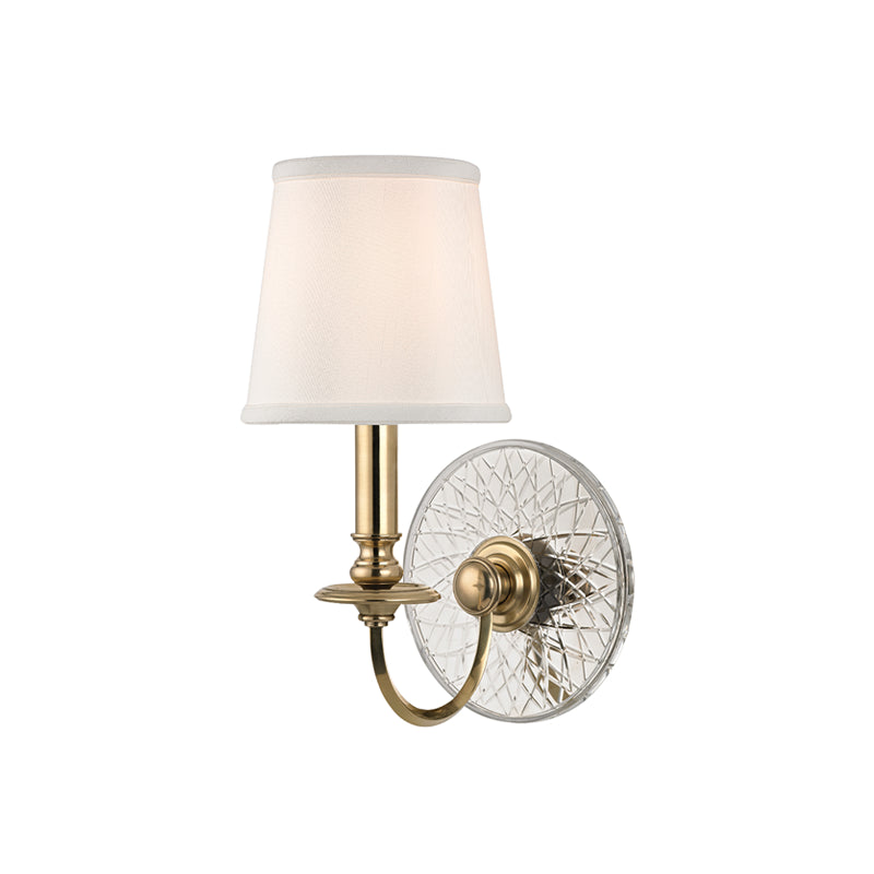 Yates One Light Wall Sconce by Hudson Valley