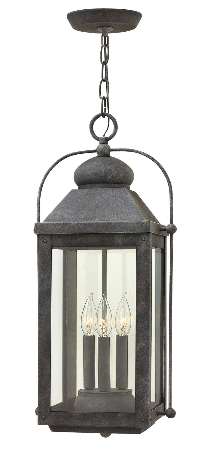 Anchorage Three Light Hanging Lantern by Hinkley