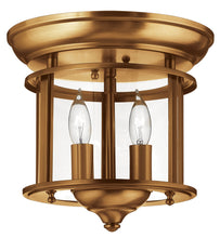 Gentry Two Light Flush Mount by Hinkley