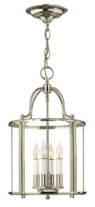 Hinkley - 3474PN - Four Light Foyer Pendant - Gentry - Polished Nickel