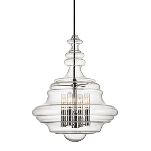 Hudson Valley - 4016-PN - Four Light Pendant - Washington - Polished Nickel